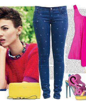 Look Elfina: стиль 80-х