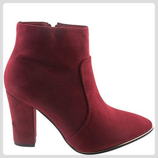 Aktuelle Damen Stiefel Schuhe fein gefuttert 330j Schwarz 36