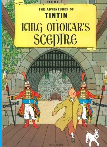 Tintin, King Ottokar's Sceptre, Herge
