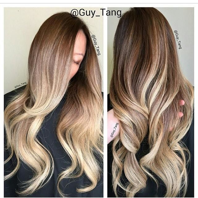 "Balayage 160g 20"" #8 / #60 by Clip-In Hair Extensions 
