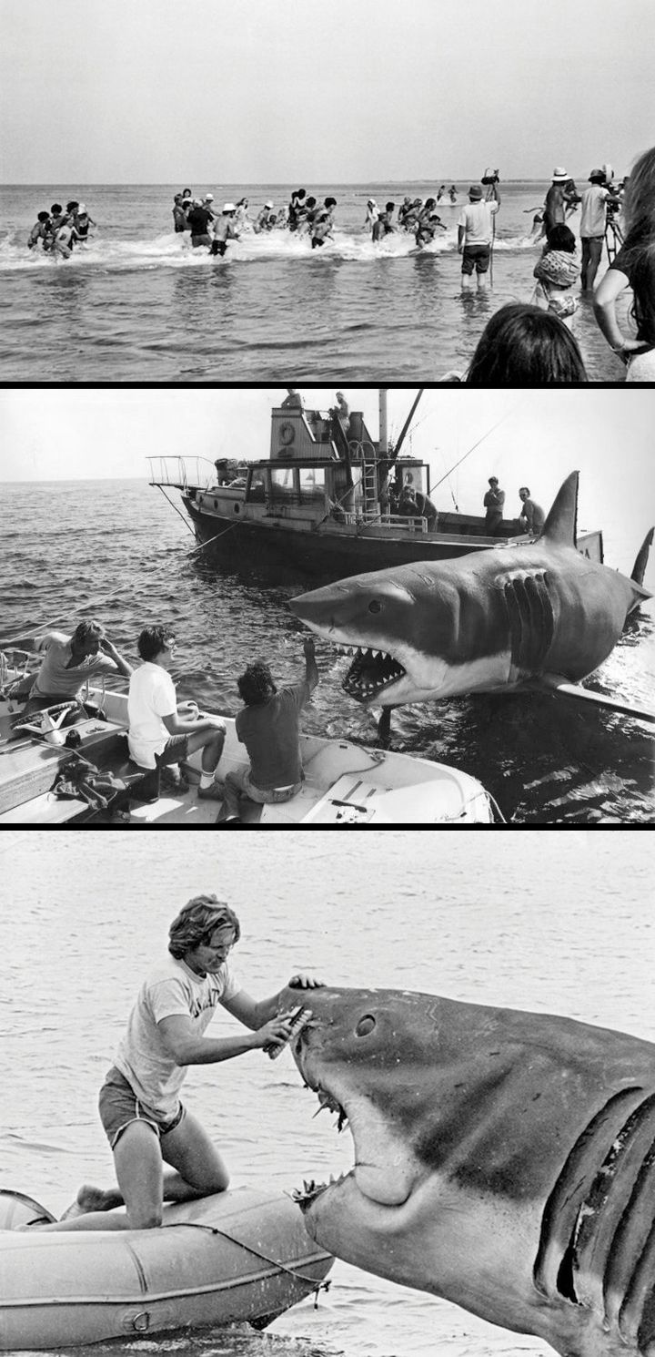 On location for Jaws (1975) SEEN THAT very JAWS filmed it in Universal 1977