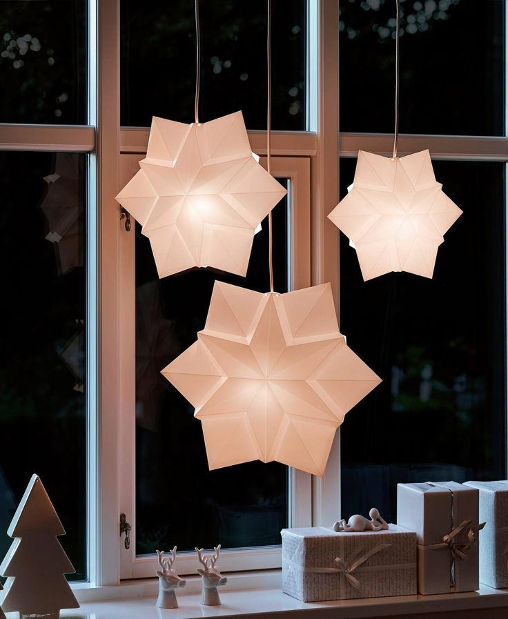 LE KLINT is launching a new range of lamps for its christmas collection, which for three years has been a part of the charitable Love & Light project. These stars are designed by Tine Mouritsen.