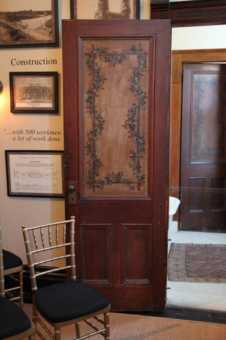 I chose this door because it looks old and it is brown like the theme color.  I like the height of it and the style.  This will be the door to the bathroom.