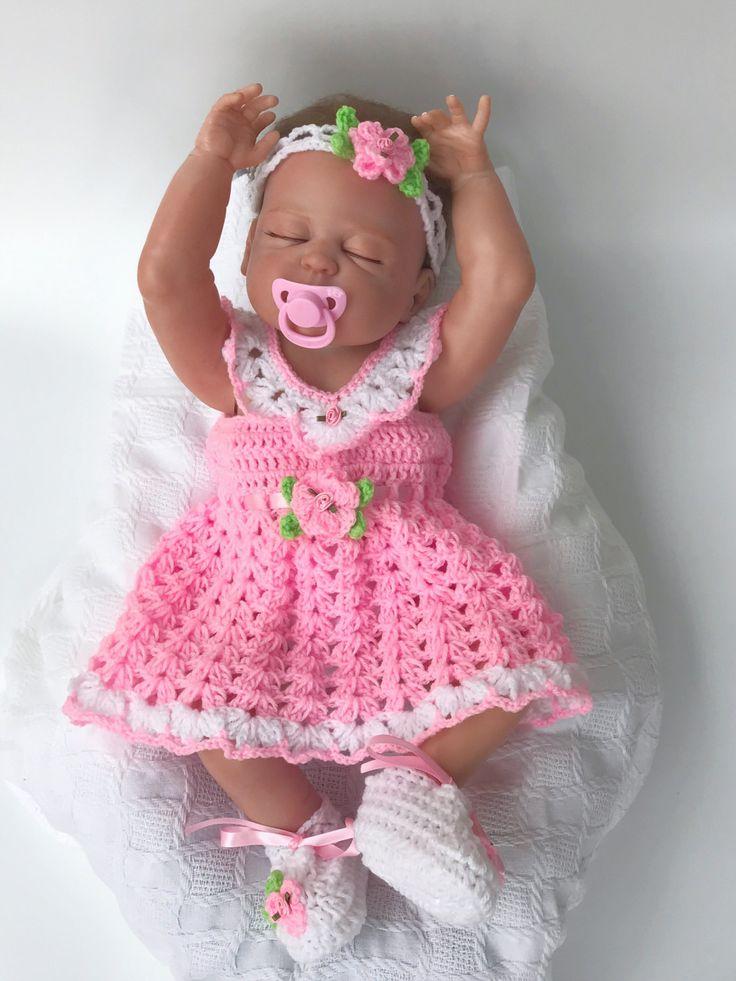 799 best vestidos niña images on Pinterest | Babies clothes, Crochet ...