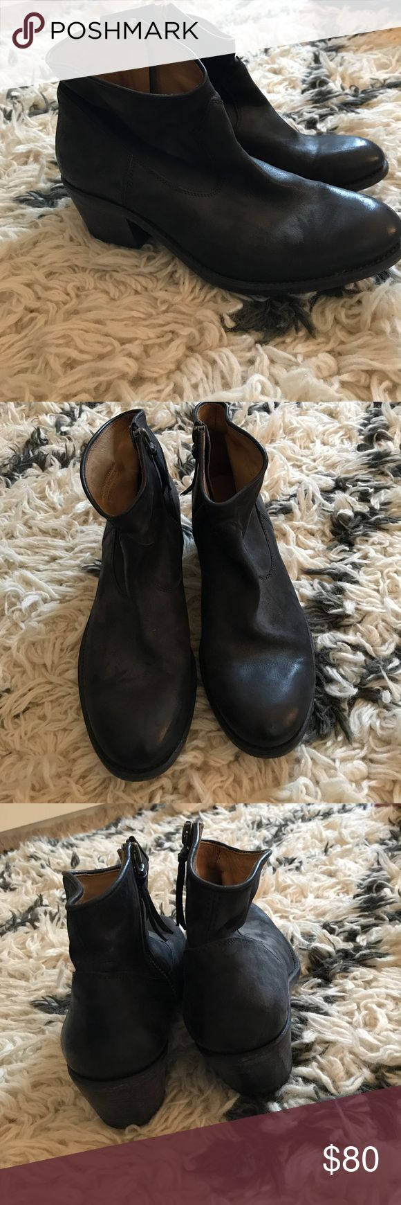 NDC Handmade booties Excellent condition, made in Spain, black leather, minimal wear. Size 38, back zip. These run small, for more like 7/7.5 NDC Shoes Ankle Boots & Booties