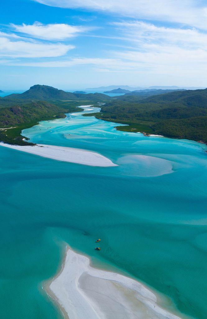Hill Inlet, Whitsunday Islands   Australia