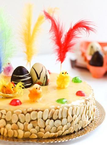 Catalan Easter Egg Cake / Mona de Pasqua
