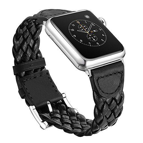 Watch Bands 38mm For Apple Watches Weave Leather Bracelet iWatch Series 1 2 New #WatchBands38mmForiWatches
