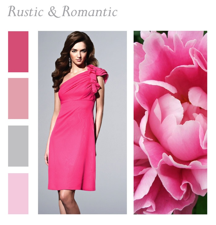 Pink Wedding Color Scheme