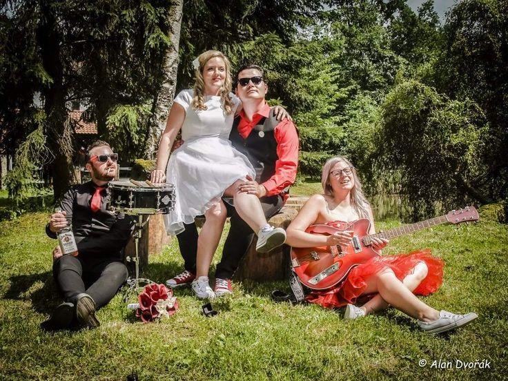 retro - rockabilly czech wedding