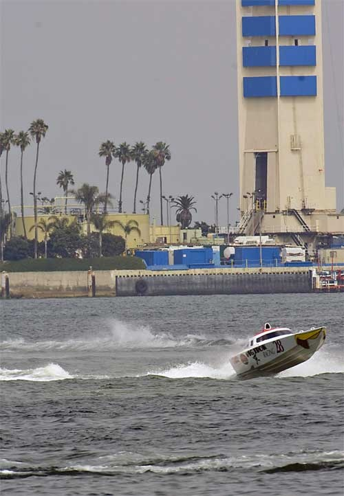 Rum Run Boat Races from Long Beach to Catalina Island and Back Action Packed