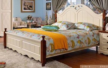 Кровать 2-спальная В комплект кровати входят: каркас кровати с реечной рамой, изголовье, изножье. Рекомендуемые размеры матраса - 1800х2000 мм. Матрас в комплект не включен