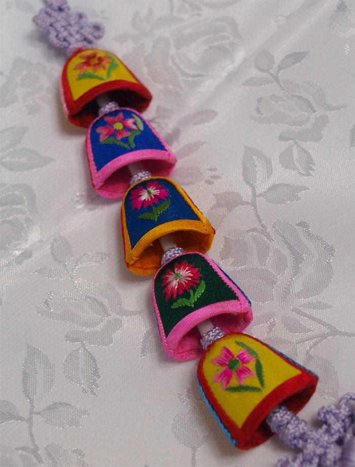 Traditional Korean Accessories | Norigae Korean Traditional Ornament for HANBOK Thimble | eBay