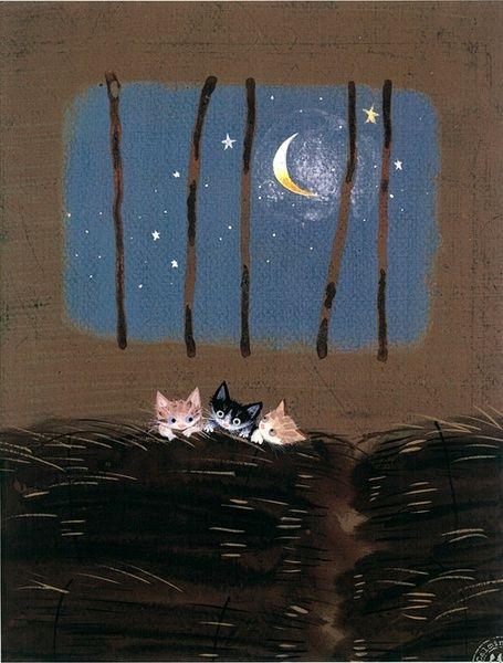 Cat moon for kitties