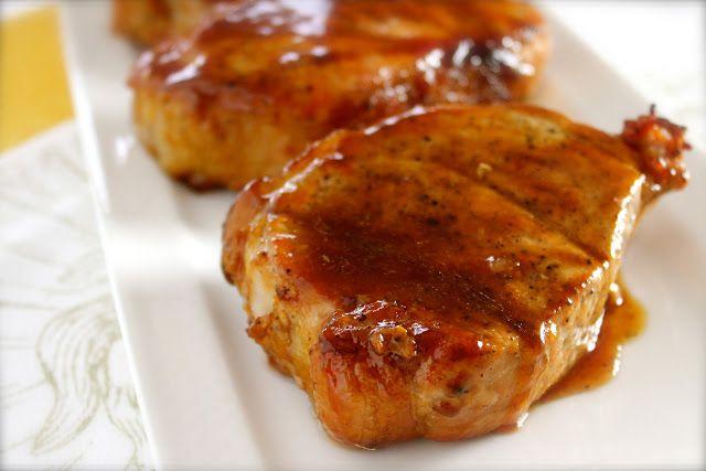 Savoir Faire: Receta de chuletas de cerdo deshuesadas al grill con glaseado de teriyaki