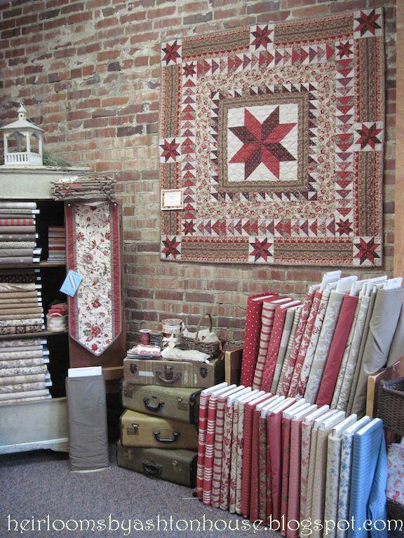 55 best Cute Quilt Shops images on Pinterest | At home, Beautiful ... : louisville quilt shops - Adamdwight.com