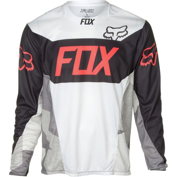 Fox Racing Demo Device Men's Off-Road Motorcycle Jerseys - White / Small