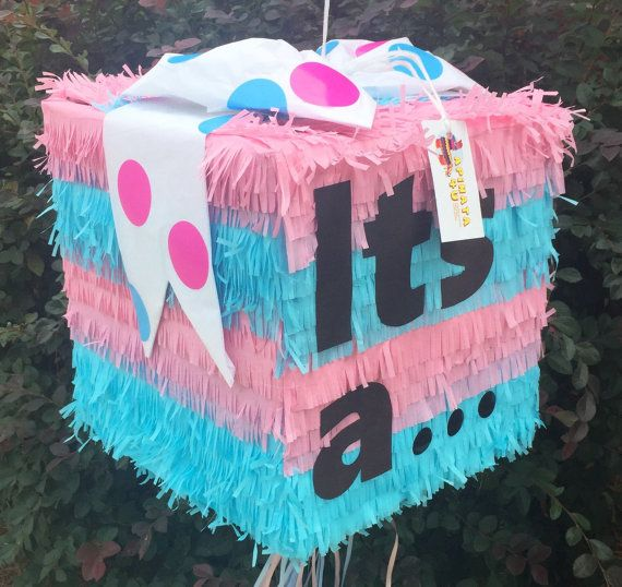 Large It's A Gender Reveal Pinata