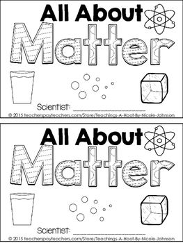This 27-page science mini-book was created to help teach the Next Generation Science Standards for 2nd grade in structure and properties of matter. It covers the following principles: what is matter, different states of matter, how matter can change, reversing states of matter, and observable properties of matter.