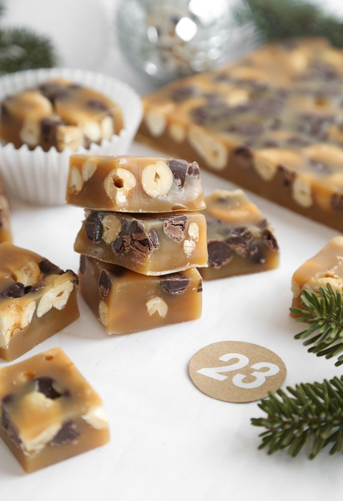Gift This! Chocolate Chip Cashew Caramels Recipe