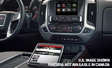 The GMC Sierra 1500 with available 4G LTE Wi-Fi.