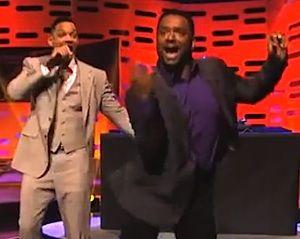 LOL Video: Will Smith, Alfonso Ribeiro Reunite for Fresh Prince Theme, Carlton's 'Unusual' Dance