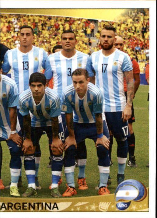 2016 Panini Copa America Centenario Stickers #304 Argentina Team