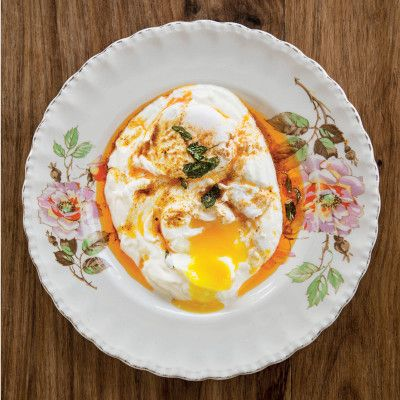 Taste Mag | CILBIR (Poached eggs with garlic yoghurt and paprika sage butter) @ https://taste.co.za/recipes/cilbir-poached-eggs-with-garlic-yoghurt-and-paprika-sage-butter/