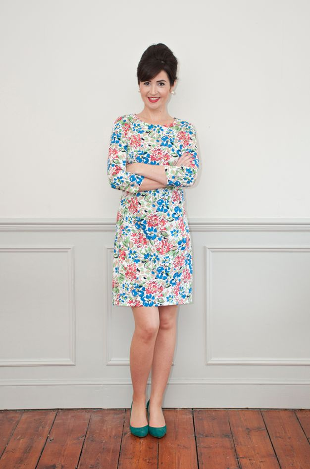 Looking for a shift dress sewing pattern? Check out the Zoe dress from Sew Over It, find out more and read reviews here!