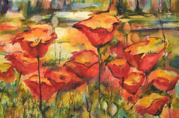 Watercolors by Denise Jacqueline Newbold