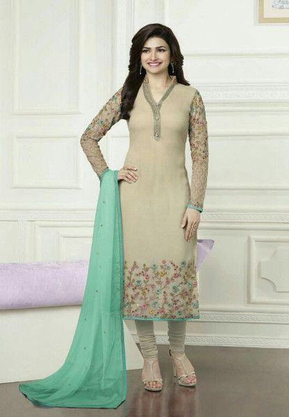 #Kaseesh #Prachi Indian #SalwarKameez Suit Vol16 3578 #Beige