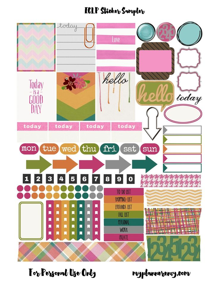 FREE amazing planner printable's by My Planner Envy Blog
