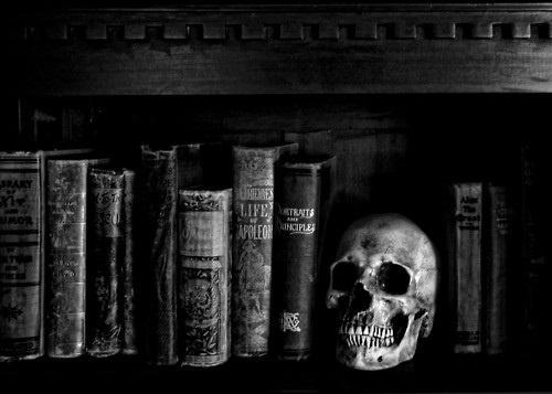 books: Skulls, Books, Bones, Art, Darkside, Dark Side, Black