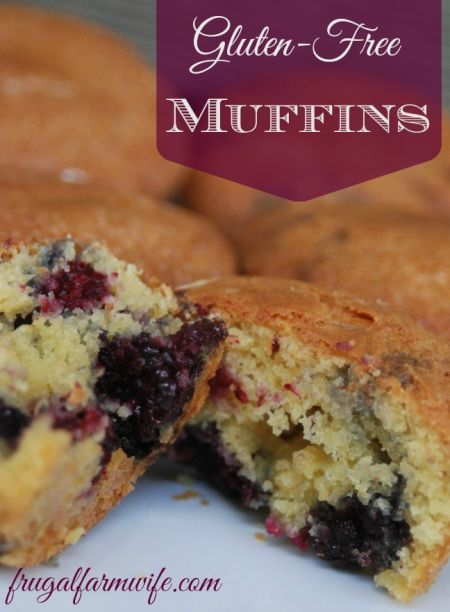 Gluten Free Muffins Recipe. All you need is one basic recipe to make endless varieties of muffins! These are amazing!