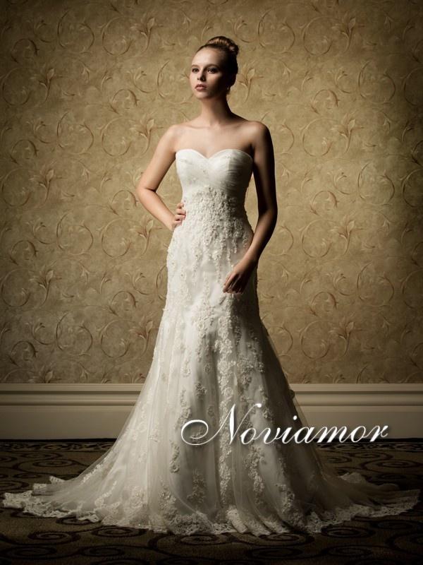 Trumpet Wedding Dresses 2017 Fashion New Bridal Gowns By Noviamor