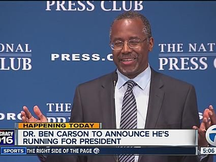 Carson In Detroit: Time To 'Let Loose' America's 'Economic Engine' From 'Chains' Of Big Government - Breitbart