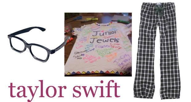 """last minute halloween: taylor swift in """"you belong with me"""" 