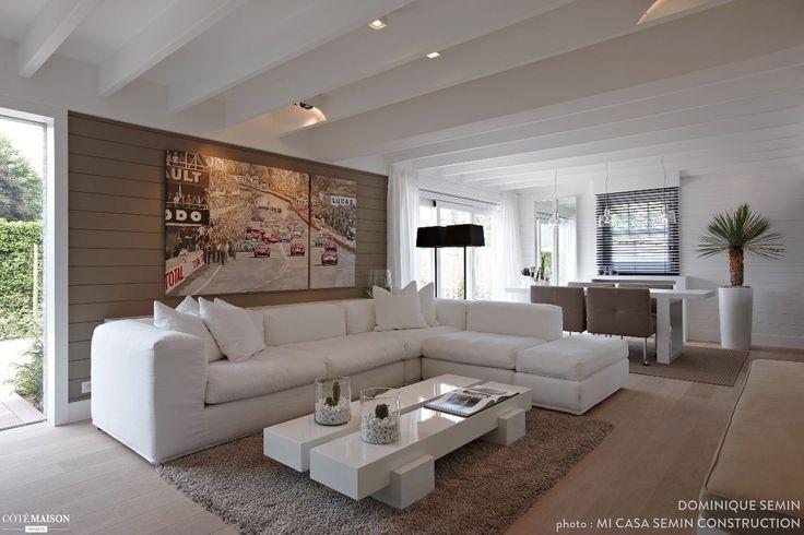 Les 25 meilleures id es de la cat gorie poutres au plafond peint sur pinteres - Poutres peintes en blanc ...