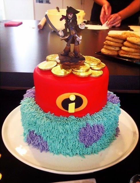 Disney Infinity Cake- Michael would LOVE!