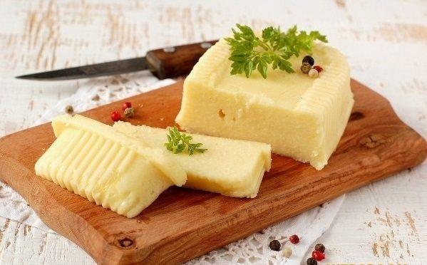 Wonderful homemade cheese