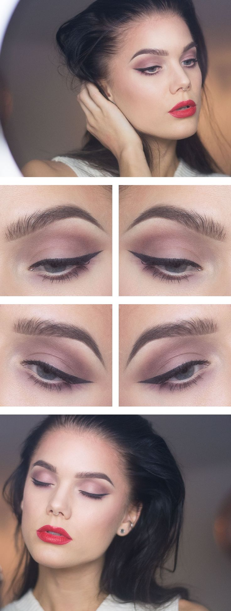 Jag har använt/i've used Too faced shadow insurance MAC eyeshadow Vainglorious…