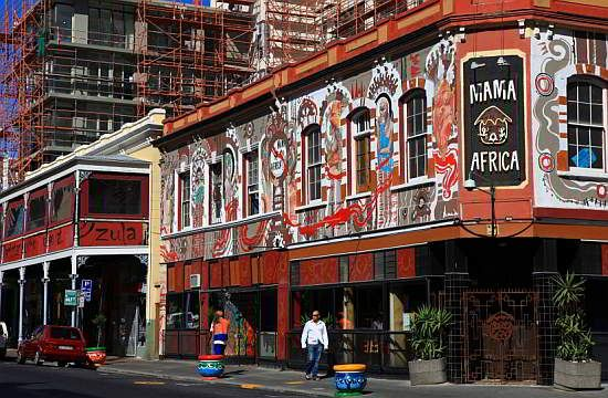 Stroll around the famous Long Street in Cape Town and do some antique shopping and experience African music, food and theatre.
