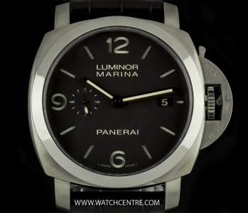 Panerai Titanium Luminor Marina 1950 3 Days Titanio 44mm PAM00351. RRP:£6,000  Our Price: £3250!!!! Call or Text Now On:07885 661 038 and Quote: 05091502 For More Information. #Panerai #titanium #luminor #marina #gents #luxury #wristwatch #time #timepiece #watchcentre #london