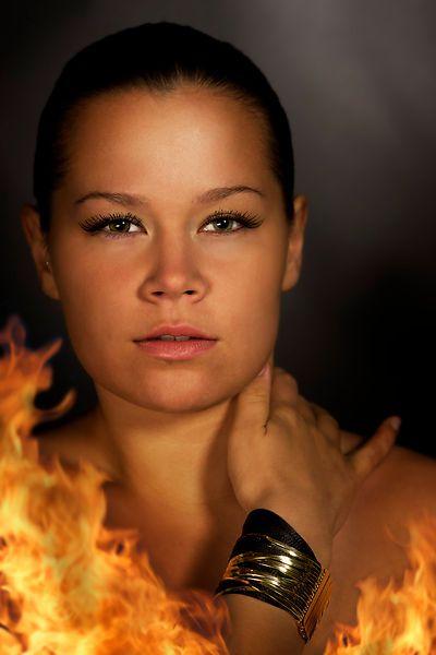 Sooooo hot! Model Ilona Mattila, photography Janne Kommonen, postproduction Tuula Kainulainen, silver bracelet by Calgaro, Italy.