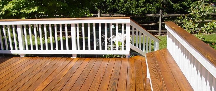 deck stain ideas two tone would you like a two tone deck. Black Bedroom Furniture Sets. Home Design Ideas