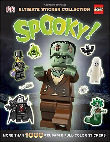 Ultimate Sticker Collection: LEGO Spooky! (Ultimate Sticker Collections): DK: 9781465424686: Amazon.com: Books