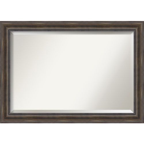 Rustic Pine Extra Large Wall Mirror