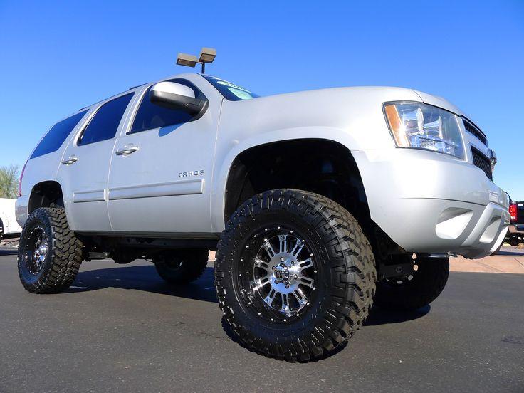 2010 Tahoe, Zone Lift, Nitto Tires, KMC Wheels.