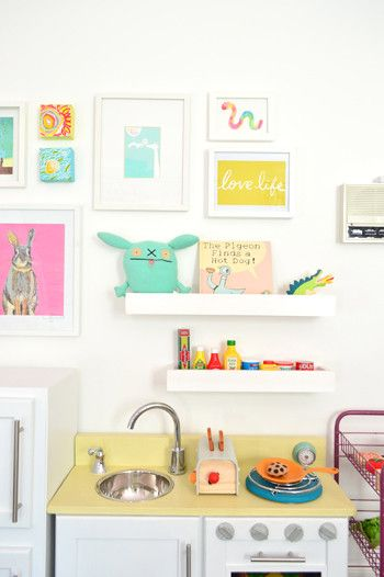 DIY Yellow U0026 White Cabinet Play Kitchen | Young House Love Part 95