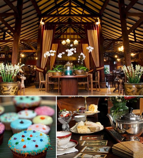 A favorite spot of founder, Becky Hosmer, is a teahouse called Biku in Seminyak, #Bali.   www.bikubali.com